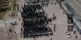 Beelden van mogelijke massadeportatie in China opgedoken