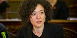 Kamerlid Yasmine Kherbache (SP.A) op weg naar Grondwettelijk Hof