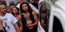 Politie Rio toont met kogels wie de baas is