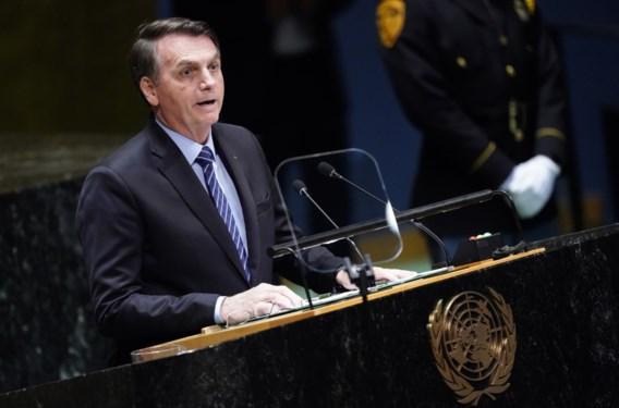 Braziliaanse president noemt bosbranden Amazone 'grote leugen van de media' in toespraak voor VN