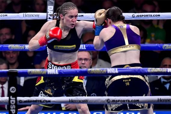 Komt rematch er toch? Katie Taylor belooft revanche voor Delfine Persoon