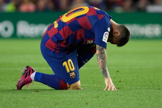 Lionel Messi mist allicht Champions League-topper tegen Inter