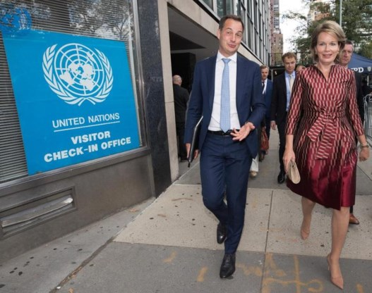 Koningin Mathilde speecht in prestigieuze bibliotheek New York