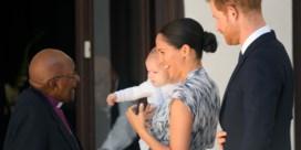 Prins Harry en Meghan brengen Archie mee naar ontmoeting met Desmond Tutu