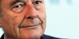 Macron houdt tv-toespraak om Chirac te eren