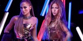 'American dream': Jennifer Lopez en Shakira treden samen op tijdens Super Bowl