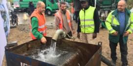 Grote actie om minder drinkbaar water te verspillen