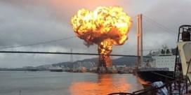 Ontploffing op schip in Zuid-Korea