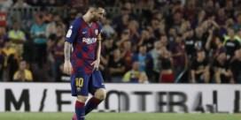 Lionel Messi hervat training bij Barcelona