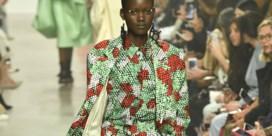 De Afrikaanse prints van Christian Wijnants kwamen er dankzij noppenfolie