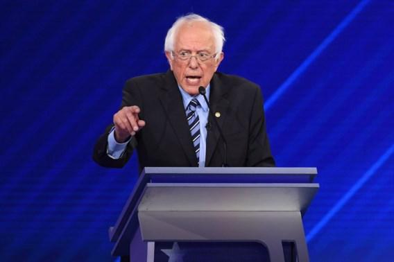 Bernie Sanders in ziekenhuis opgenomen