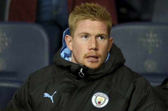 Manchester City-trainer Pep Guardiola is niet bezorgd over blessure van Kevin De Bruyne