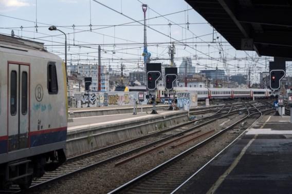 Grote werken aan Brussels spoor treffen 27.000 reizigers