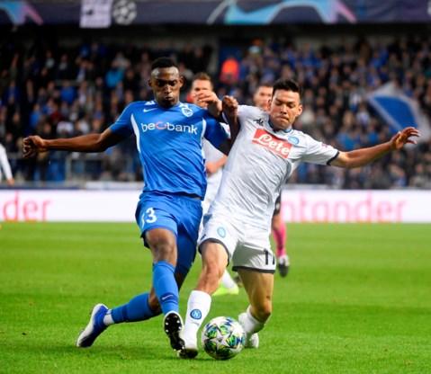 Genk houdt Napoli in bedwang: 0-0