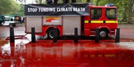 Protestactie van klimaatactivisten loopt helemaal in het honderd