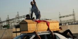 Iraakse betogers duwen het gaspedaal in