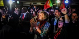 Socialisten winnen parlementsverkiezingen in Portugal, maar halen geen meerderheid