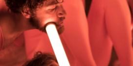 Een bombardement met ledlampen