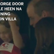 Prins George is Aston Villa-supporter