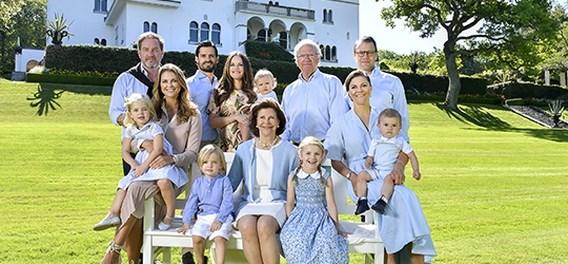 Zweedse koning 'ontslaat' vijf kleinkinderen uit koninklijke functie