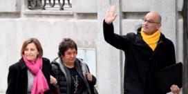 Dit zijn de belangrijkste verdachten in het proces over het Catalaanse referendum