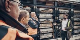 Franse elektrische postautootjes springen hoogspanningsnet bij