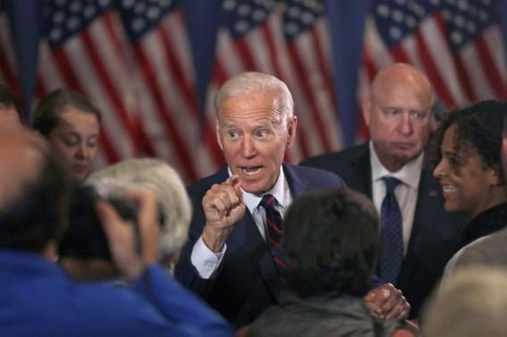 Joe Biden steunt afzetting Trump
