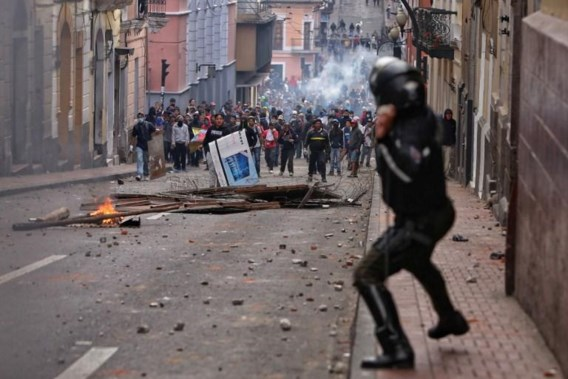 Dagenlange protesten leiden tot avondklok in Ecuador