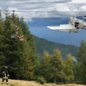 Vliegtuig crasht in kabels skilift