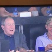 Ellen DeGeneres: 'Hoe kan lesbische, liberale talkshowhost naast een conservatieve president zitten?'