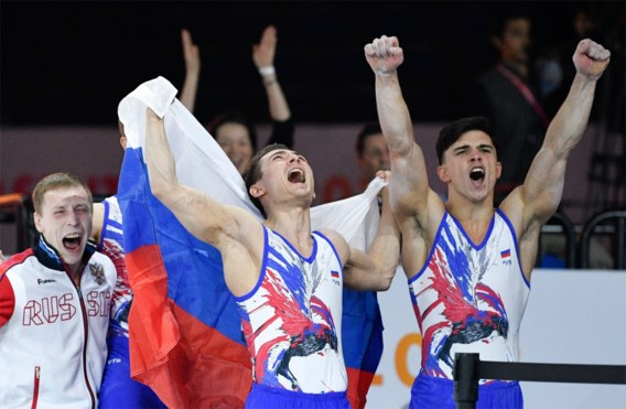 WK TURNEN. Russische turners troeven in teamcompetitie China af