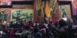 Betogers bestormen parlement in Ecuador