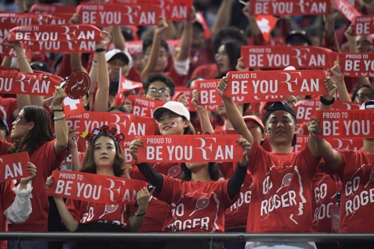 David Goffin laat kansen liggen en buigt in Shanghai eens te meer voor grootmeester Roger Federer