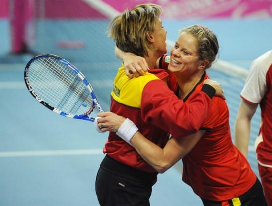 Wordt dit het eerste Belgische optreden van Kim Clijsters? België in Kortrijk tegen Kazachstan in het kader van Fed Cup