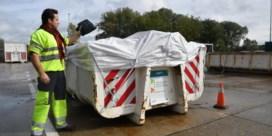 Containerparken aanvaarden alleen nog goed verpakt asbest