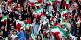 Iraanse vrouwen mogen voor het eerst sinds 1981 naar het voetbal