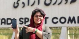 Iraanse vrouwen voor het eerst in 40 jaar naar het voetbal