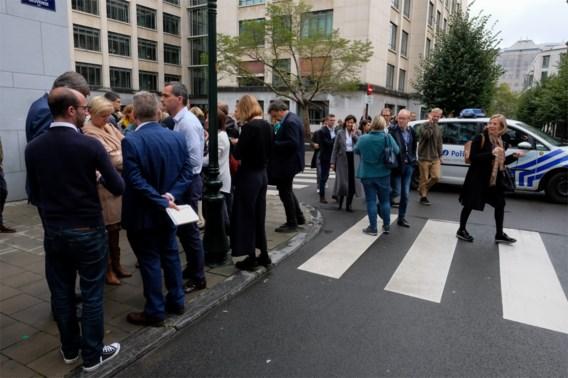 Geen dreiging met aanslag, Vlaams Parlement nodeloos ontruimd