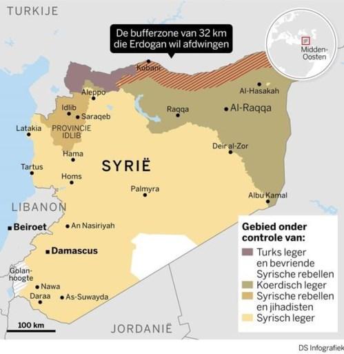 Eerste Turkse soldaat omgekomen, al 277 Koerdische strijders gesneuveld in Syrië