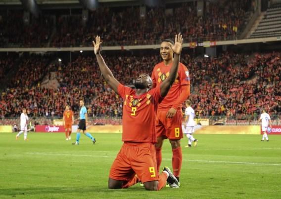 Rode Duivels zeker van EK-ticket na monsterzege tegen San Marino