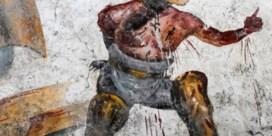 Fresco van bloedig gladiatorengevecht ontdekt in Pompeji