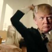 Trump veroordeelt nepvideo waarin hij media 'neerschiet'