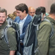 Canadese premier Trudeau draagt kogelvrije vest op campagne