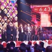 Solidariteitsactie RTBF levert recordbedrag van 6,4 miljoen euro op