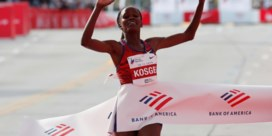 Kosgei verpulvert wereldrecord marathon