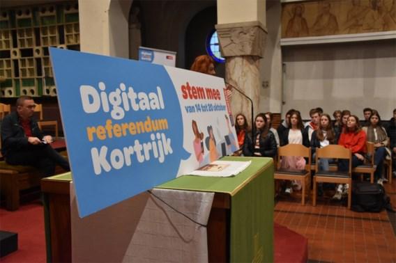 Kortrijk stemt over maandelijkse autovrije zondag