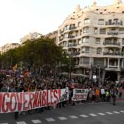 Catalanen protesteren voor tweede dag op rij: 'Nieuw referendum onvermijdelijk'