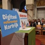 Digitaal referendum over autoloze zondagen in Kortrijk begint niet zonder commotie