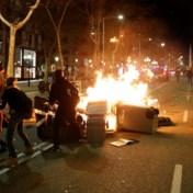 Tweede dag van protesten in Catalonië draait uit op rellen