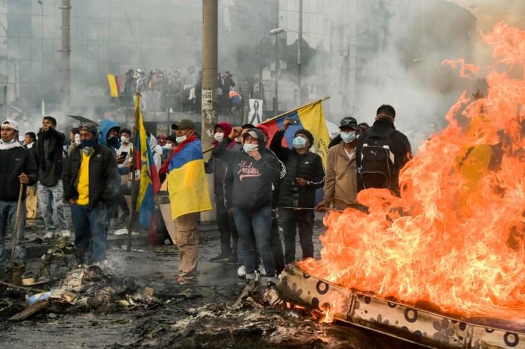 Protesten Ecuador: regering bereikt akkoord met inheemse leiders